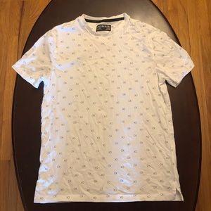 Men's All Over Print Calvin Klein T-shirt Sz S